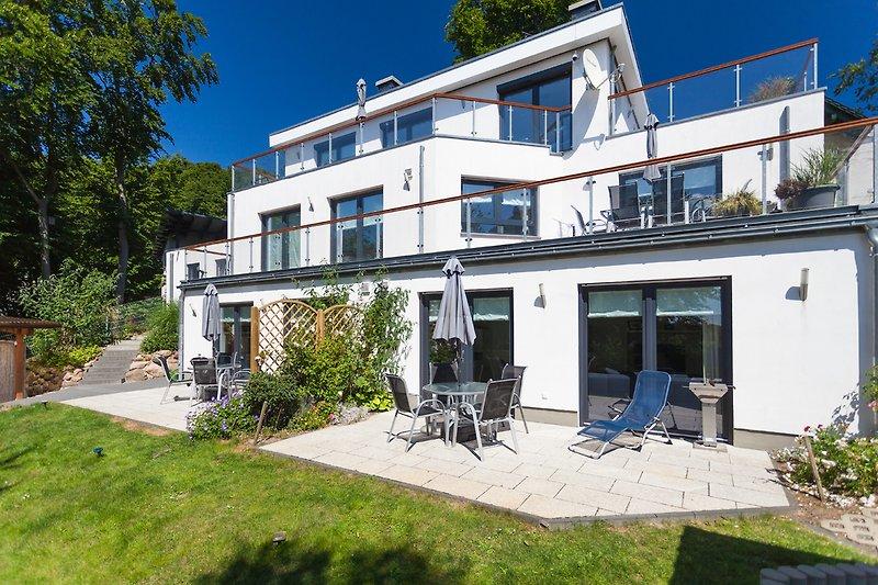 Strandhaus Manatee mit 1- bis 4-Zimmer-Appartements