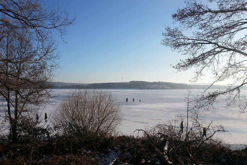 Bostalsee im Winter