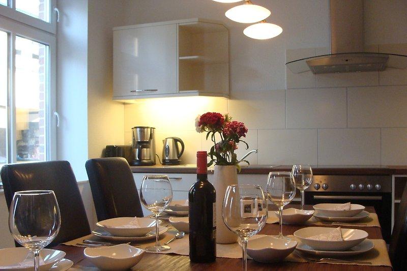 Die gemütliche Küche