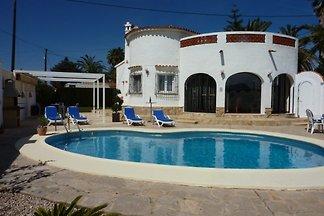 Ferienhaus  Lilia mit Pool