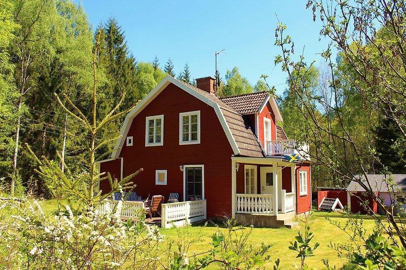 Garten Ferienhaus Blanken