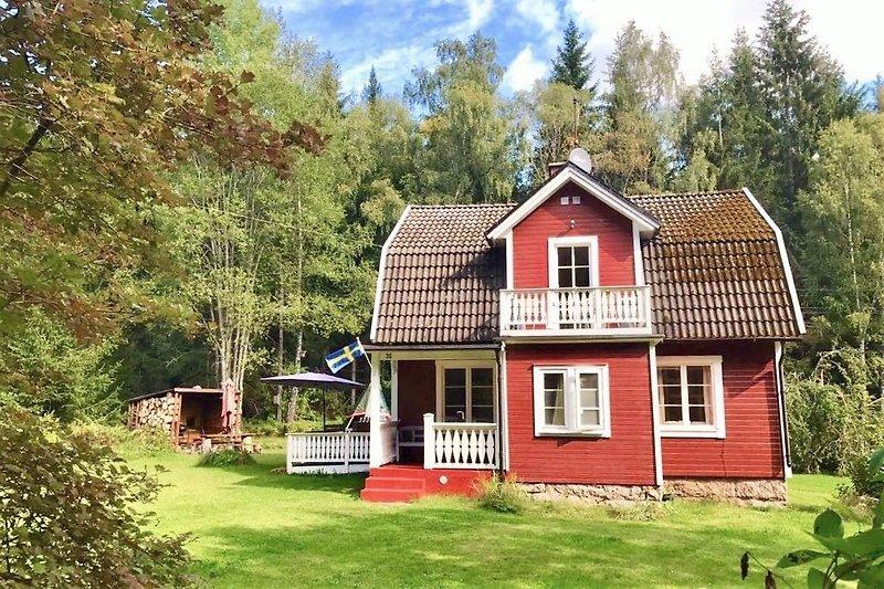 Ferienhaus Blanken Süd-Schweden