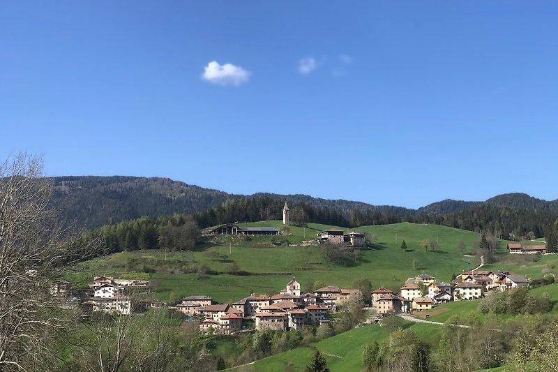 Blick auf Tregiovo