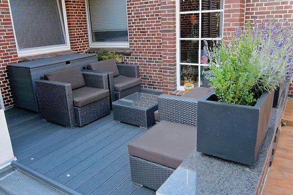 Sitzecke im Außenbereich