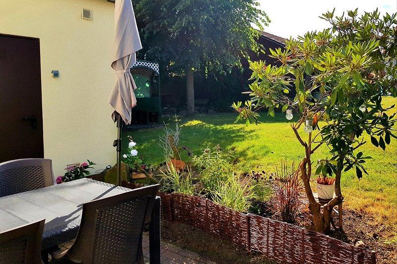 Eigene Terrasse mit Garten (EG)