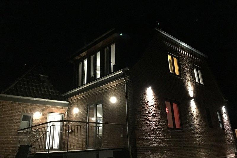 Zollhaus bei Nacht