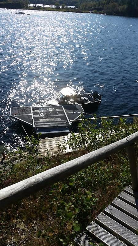 ferienhaus in norwegen am fjord in melandsjo frau kn ferle. Black Bedroom Furniture Sets. Home Design Ideas