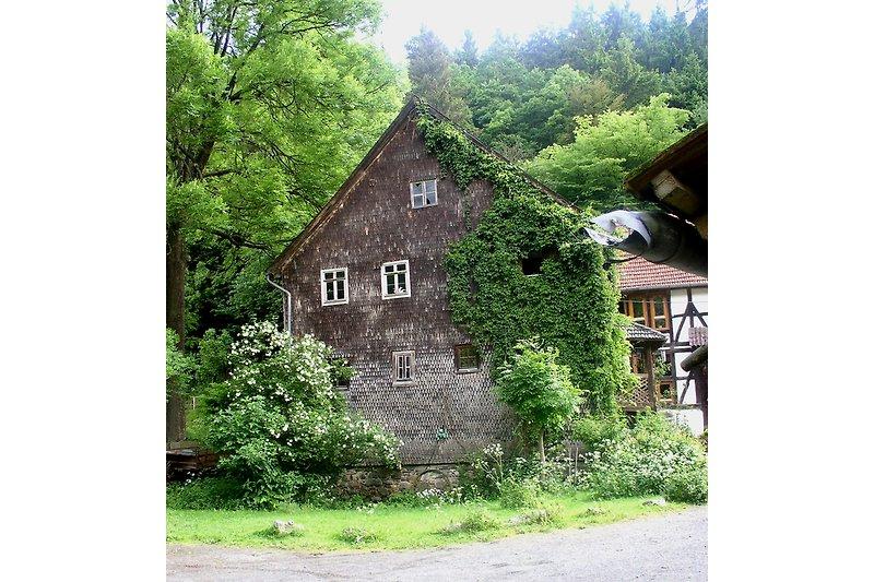 Das 250 Jahre alte Mühlenhaus
