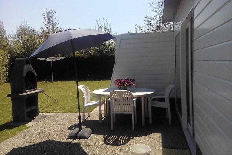 terras mit barbeque