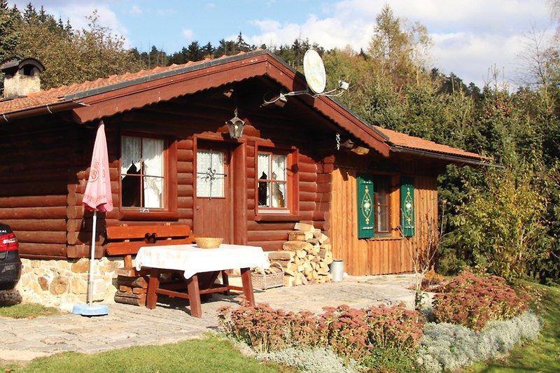 Ferienhaus 800 qm Garten