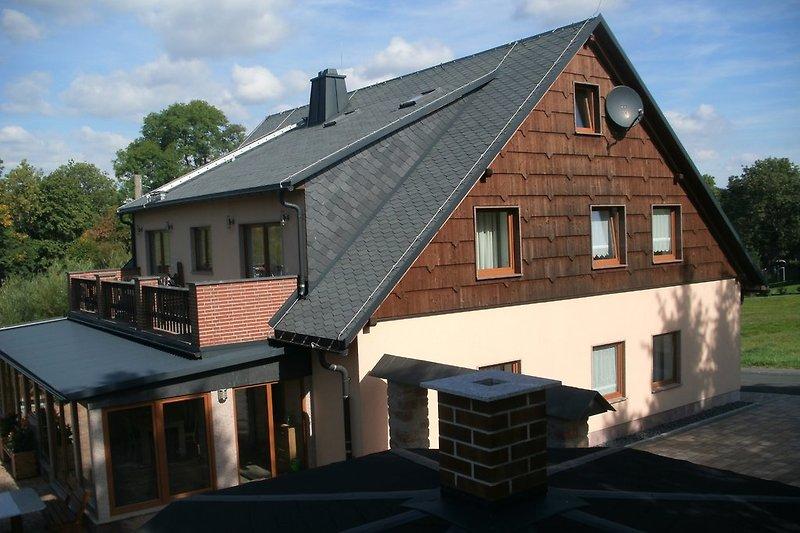 Haus Bergblick Seitenansicht