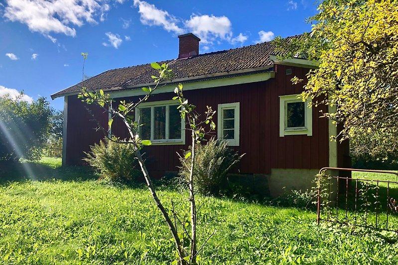 Haus vom hinteren Garten aus