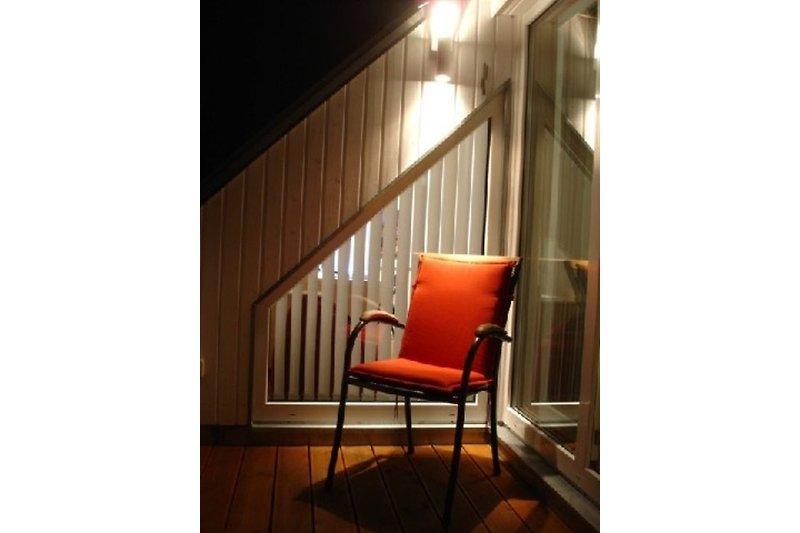 Terrasse mit Beleuchtung