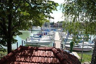 Ferienhaus mit Boot und Steg