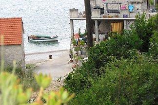 Ferienwohnung 50 m vom Strand mit Meerblick