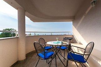 Ferienwohnung con balcone