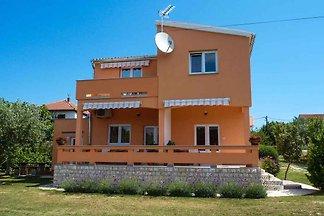 Ferienhaus mit Klimaanlage und Meerblick