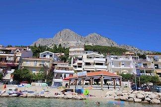 Ferienwohnung mit Meerblick, Klimaanlage und