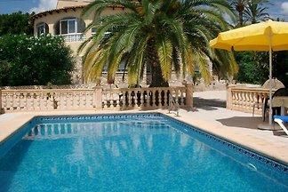 Ferienhaus mit Terrasse und privatem