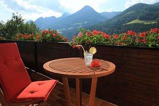 Ferienwohnung mit Balkon mit Panoramablick