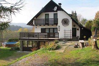 Ferienhaus mit Kamin, Sauna, Spielezimmer und