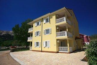 Vakantie-appartement in Baska