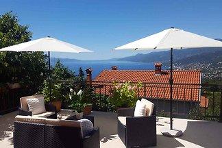 Ferienwohnung mit 50 qm Terrasse und