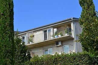 Ferienwohnung mit Meerblick und Balkon