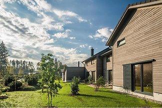 Ferienhaus mit Wellnessbadezimmer und Finnisc