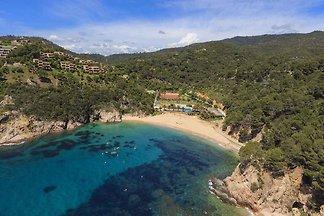 Ferienwohnung mit Meeresausblick