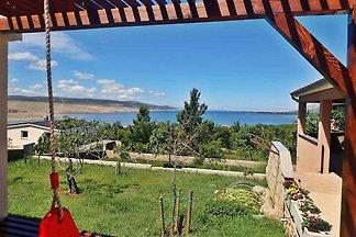 Ferienwohnung mit Klimaanlage und Terrasse mi