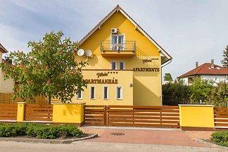 Ferienwohnung a helységközpontban és a Balato