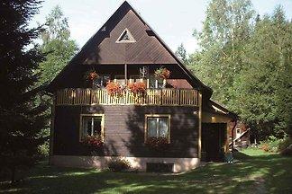 Ferienhaus mit Kaminofen in ruhiger Umgebung