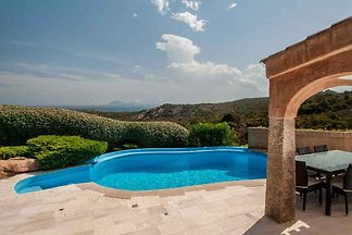 Ferienhaus with swimming pool, for 10 people