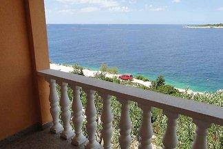 Ferienwohnung mit Meerblick 50 m vom Strand