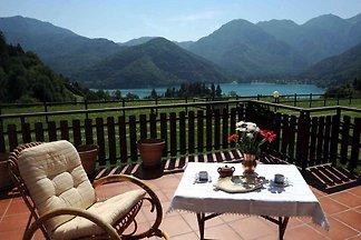 Ferienwohnung con meravigliosa vista lago