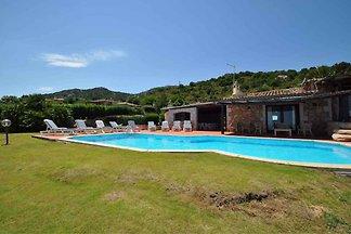 Villa mit Meerblick und Garten