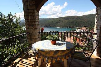 Ferienwohnung mit Balkon mit Meerblick
