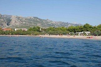 Mobilehome im Camp direkt am Meer