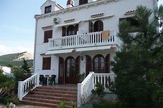 Vakantie-appartement in Barbat