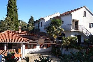 Ferienwohnung mit Meerblick vom Balkon und