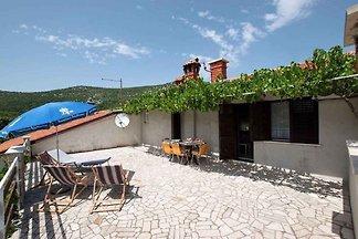 Ferienwohnung grosse Terrasse mit Klimaanlage