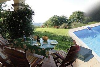 Ferienhaus mit Panoramablick, Aussenpool und
