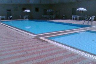 Ferienwohnung con piscina