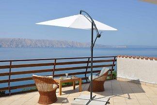 Ferienwohnung mit 45 qm Terrasse und
