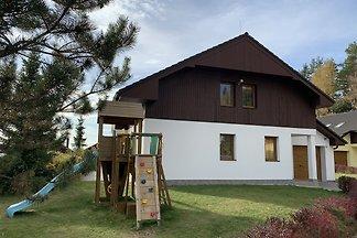 Ferienhaus im Villapark Lipno auf dem Lipno