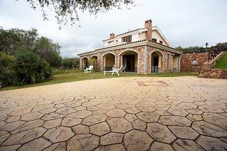 Villa mit Terrasse