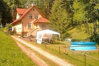 Ferienhaus mit Aussenpool direkt unter dem Be
