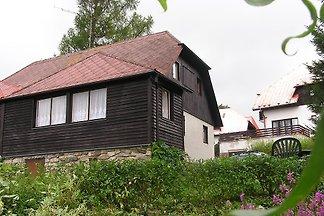Ferienhaus mit Ofen am Lipno-Stausee
