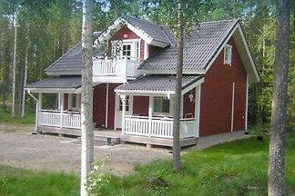 Ferienhaus mit Strandsauna am See und eigenem